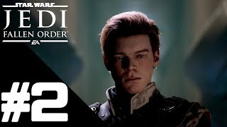 Star Wars Jedi: Fallen Order Walkthrough Gameplay Part 2 – PS4 1080p Full HD – No Commentary