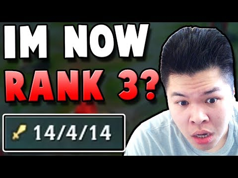 DID I JUST HIT RANK 3 JUST LIKE THAT?? ft. Yassuo - Challenger to RANK 1