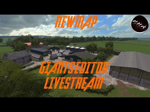 Giants Editor new map- Time to put down some fields