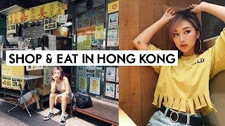 👠 FOLLOW ME AROUND HONG KONG 🍜  Shop & Eat w/ ME! 🇭🇰   IAMKARENO