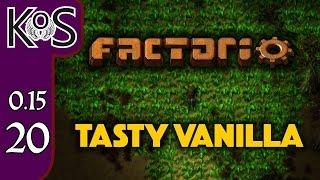 Factorio 0.15 Tasty Vanilla Ep 20: Finishing Blue Science - Let's Play, Gameplay