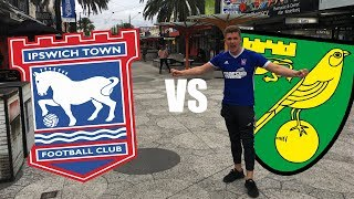 Ipswich Town vs Norwich City 22nd October 2017 (MATCH DAY VLOG)