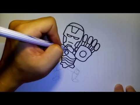 ไอร่อนแมน by วาดการ์ตูนกันเถอะ สอนวาดรูป การ์ตูน