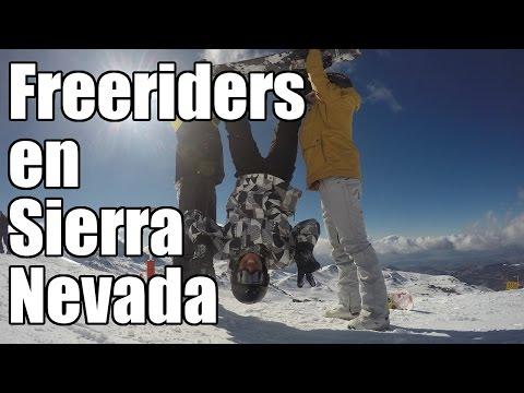 Freeriders en Sierra Nevada | Vlog