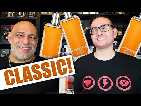 Lagerfeld Classic Cologne / Fragrance Review