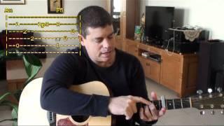 אהבת נעורי / שלום חנוך - שיעור גיטרה חלק 1 thumbnail