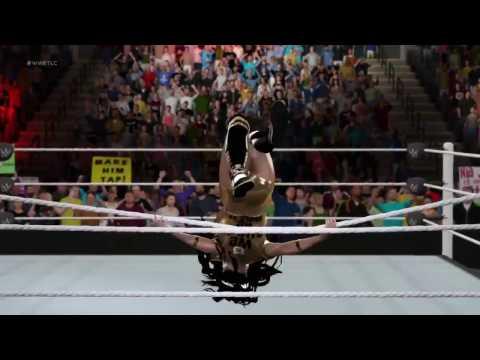 WWE 2K17 - All Divas dressed as Nikki Bella