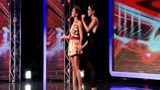 "Cheryl Cole helps woman sing ""I"