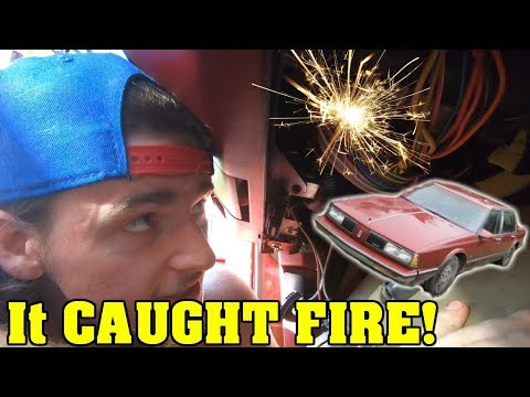 I HOT WIRED MY CAR! *DANGER* - YouTube