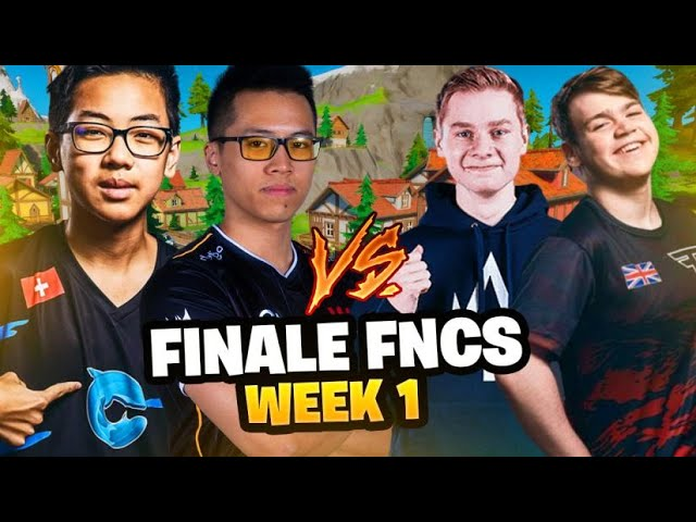 FINALE DES FNCS 🏆 Solary Kinstaar x Cooler 4ZR - WEEK 1