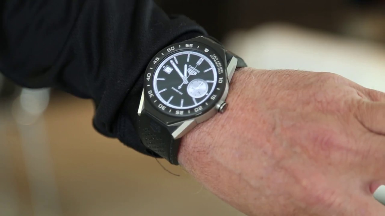 online store 25f69 eb042 TAG Heuer Connected Modular 45 Review