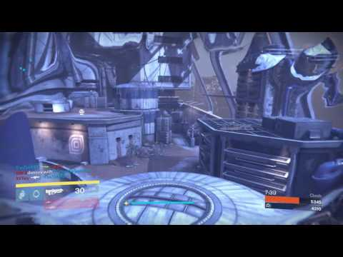 Destiny l Solo against a full fireteam and winning!?!?! l Grasp of Malok destruction l