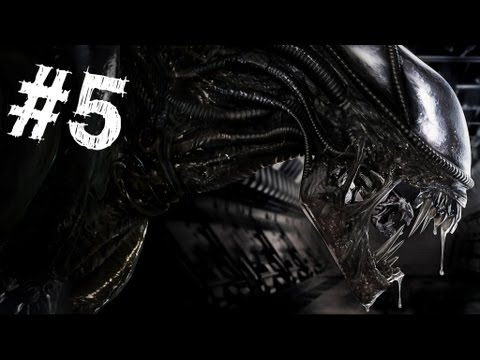 Aliens Colonial Marines Gameplay Walkthrough Part 5 - The Raven - Mission 5
