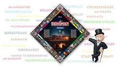 Monopoly Freiberg Teaser: Das Spielfeld