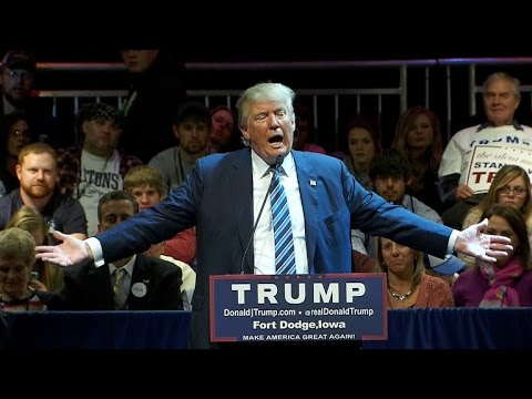 """Trump rips GOP rivals and """"stupid"""" people in tirade"""