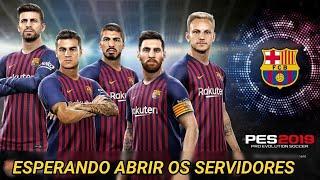 ESPERANDO ABRIR OS SERVIDORES DO PES 2019 MOBILE