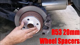 homepage tile video photo for R53 Mini Cooper S 20MM Wheel Spacers