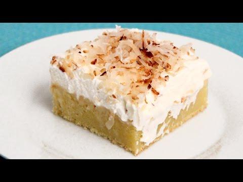 Coconut Tres Leches Cake Recipe Laura Vitale Laura in the Kitchen Episode 888
