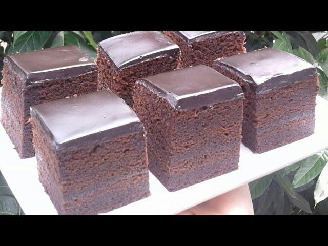 Resep Brownies Kukus Siram Coklat Ganache Ekonomis yang Lembut dan Nyoklat Banget