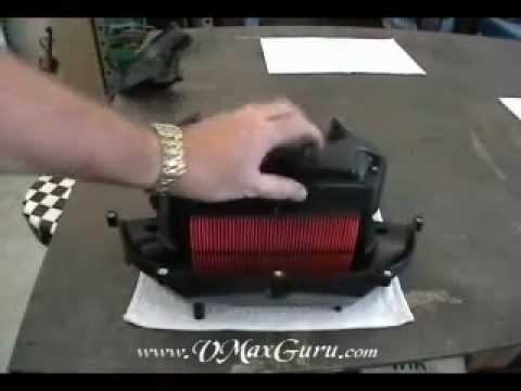 2009 Vmx17 Air Box Mod Youtube