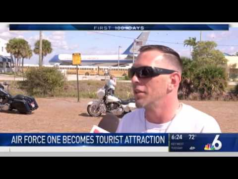 Air Force One Temporary Tourist  Attraction in West Palm Beach