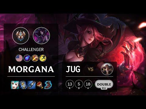 Morgana Jungle vs Sett - NA Challenger Patch 10.16