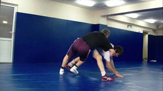 Уникальный прием в борьбе. Freestyle wrestling techniques. freestyle wrestling training