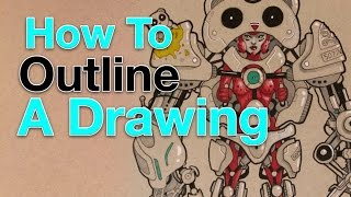 How to Outline a Drawing