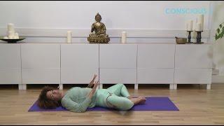 Corrie Ananda-  Stretch and Unwind: Supta baddha konasana