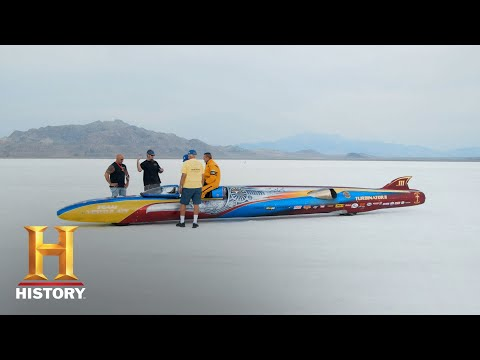 Counting Cars: Ryan and Kevin Watch Their Turbinator Paint Job In Action (S7, E17) | History