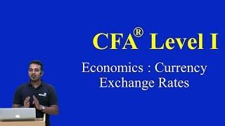 CFA Level I- 2015 -Economics : Currency Exchange Rates