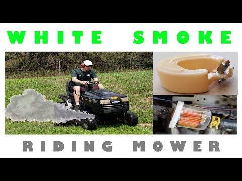 White Smoke From Riding Lawn Mower
