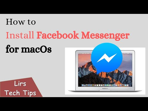 How To Install Facebook Messenger For MacOS
