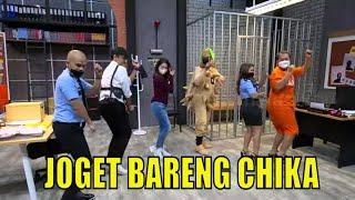 Belajar Joget Papi Chulo Sama Chandrika Chika Lapor Pak 02 03 21 Part 4