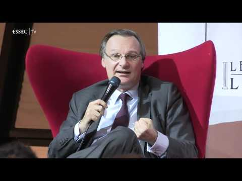 Pierre Nanterme, CEO monde d'Accenture aux Mardis de l'ESSEC
