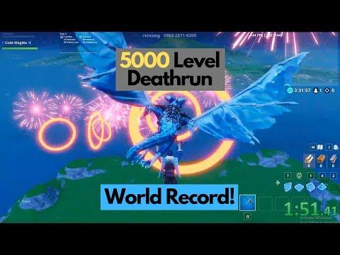 2:02 - 5000 Level Deathrun - (WR)