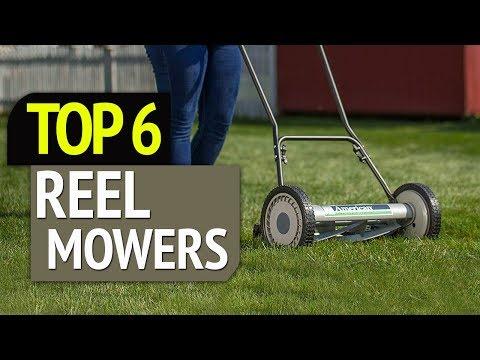 TOP 6: Best Reel Mowers 2019