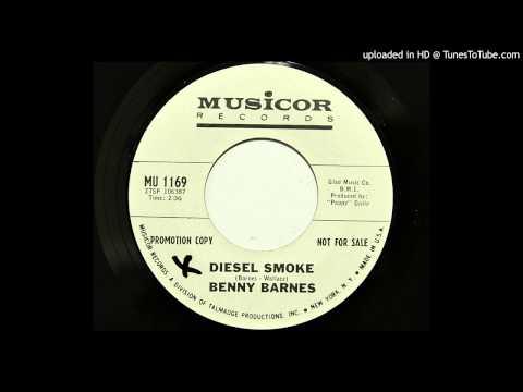 Benny Barnes - Diesel Smoke (Musicor 1169) [1966 country bopper]