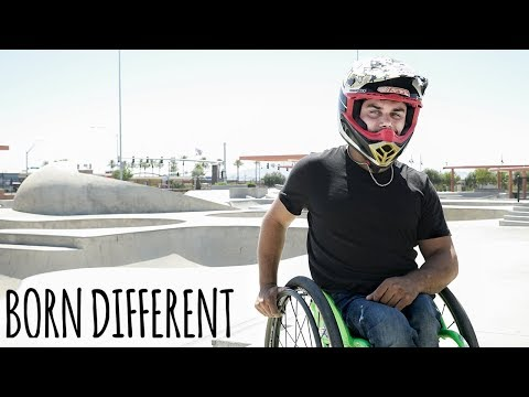 Frosty - Wheelchair Skater Pulls Sic Tricks You Will Not Believe