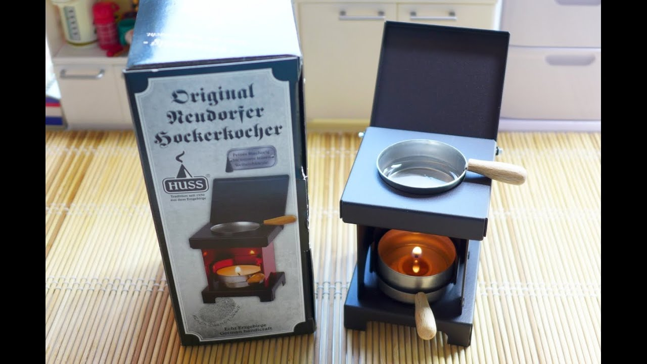 Unboxing Miniature Cooking Stove Huss Stools Incense