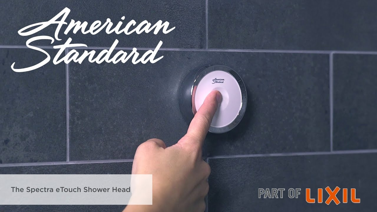 Spectra eTouch Shower Head Features and Benefits - YouTube