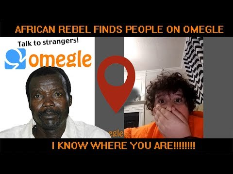 AFRICAN REBEL ON OMEGLE TELLING STRANGERS LOCATION!