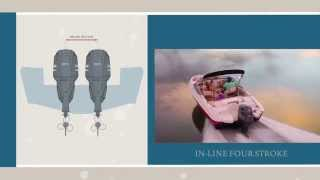 Yamaha Outboards i4 In-Line Four-Strokes