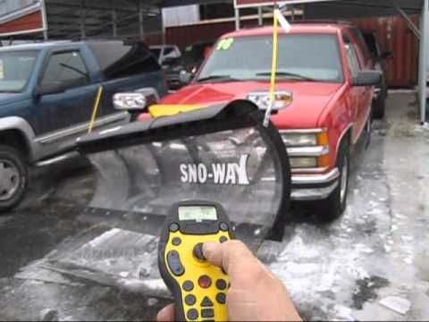 hqdefault 4 sale sno way series 26 w down pressure, wireless control Sno- Way Wiring-Diagram at fashall.co