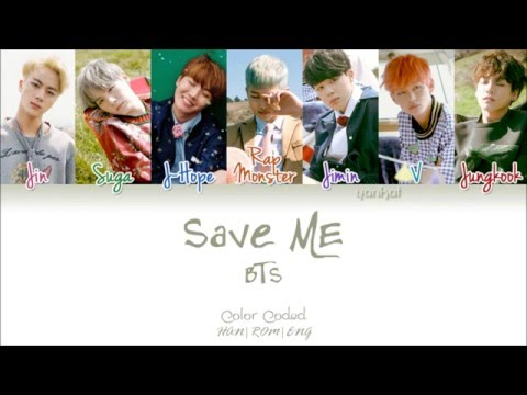 BTS (방탄소년단) – Save ME (Color Coded Han|Rom|Eng Lyrics) | by