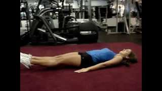 Lying Leg Lifts and Bicycles for Sculpted Abs