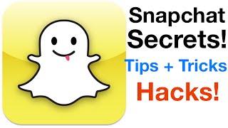 Snapchat Secrets, Hacks, Tips + Tricks Part 3! [NO Jailbreak]