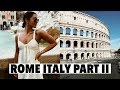 ROME PART II: touring the colosseum, pasta making class & exciting news!