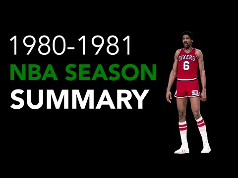 1980-1981 NBA Season Summary