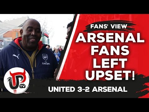 Defeated and deflated Robbie from ArsenalFanTV | Man United 3-2 Arsenal